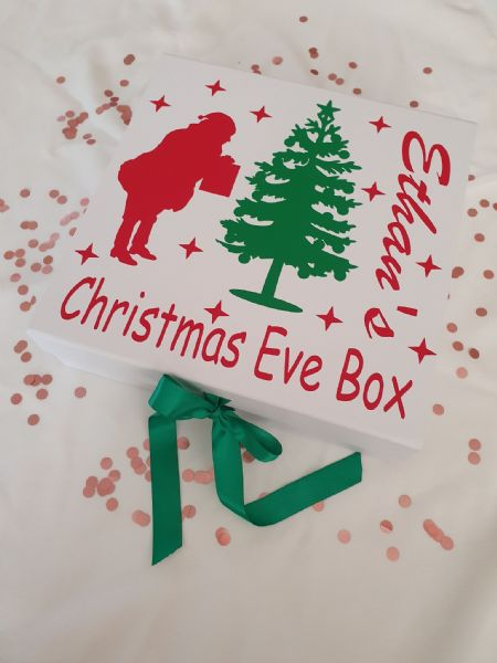 Presents Under The Tree Personalised Christmas Eve Gift Box